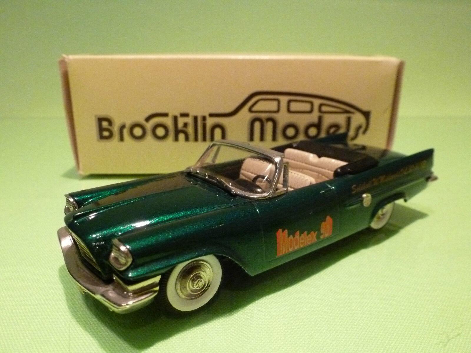 BROOKLIN MODELS 41x CHRYSLER 300E COverdeIBLE 1959 -MODELEX 93- 1 43 - RARE NMIB