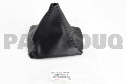 SHIFTING HOLE 58808-0K030-C0 588080K030C0 Genuine Toyota COVER SUB-ASSY