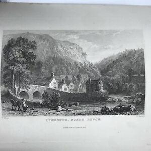 Authentic-Antique-1600-1800-s-Engraving-On-Paper-Manuscript-Artwork-Art-Old-S