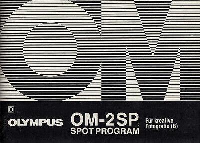 Bonito Olympus Manual De Instrucciones Para Om-2 Spot/program-para Fotografía Creativa-itung Für Om-2 Spot/program - Für Kreative Fotografie Es-es