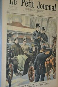 Le-petit-journal-supplement-illustre-1-mai-1898-Les-deux-reines-de-Hollande