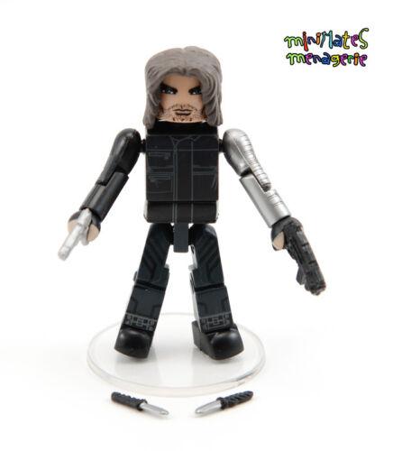 Marvel Minimates TRU Toys R Us Captain America Civil War Movie Winter Soldier