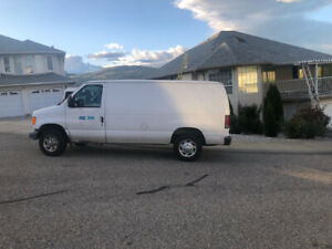 Cargo Van in Great condition for sale in Vernon BC!