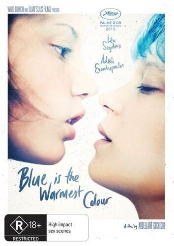 1 of 1 - Blue Is the Warmest Colour Color DVD R4 Uncut