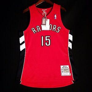online store 19f29 cc57c Details about 100% Authentic Vince Carter Mitchell Ness Raptors Jersey Size  44 L - dell curry
