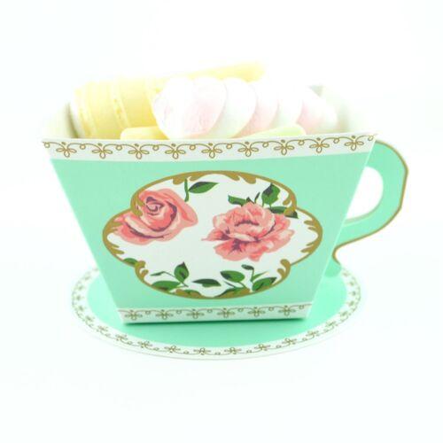10//50//100Pcs Tea Pot Sweet Candy Gift Boxes Christmas Wedding Party Favour Bag