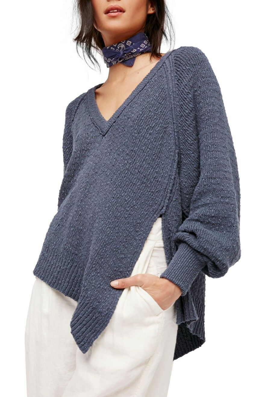 NWT fri människor West Coast Cotton Pulver tröja Detaljhandel   108