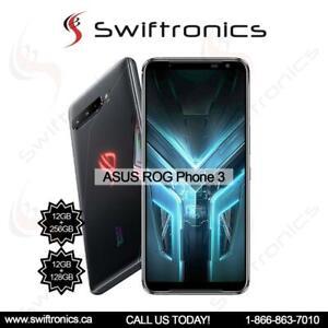ASUS ROG Phone 3 SD865 (ZS661KS) Smartphone 12GB/128GB/ 12gb/256gb- Black Canada Preview