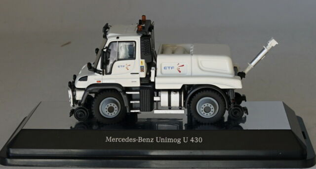 two-way shunter /'ETF /' 1//50 NZG 9104//03 MB Unimog u 400