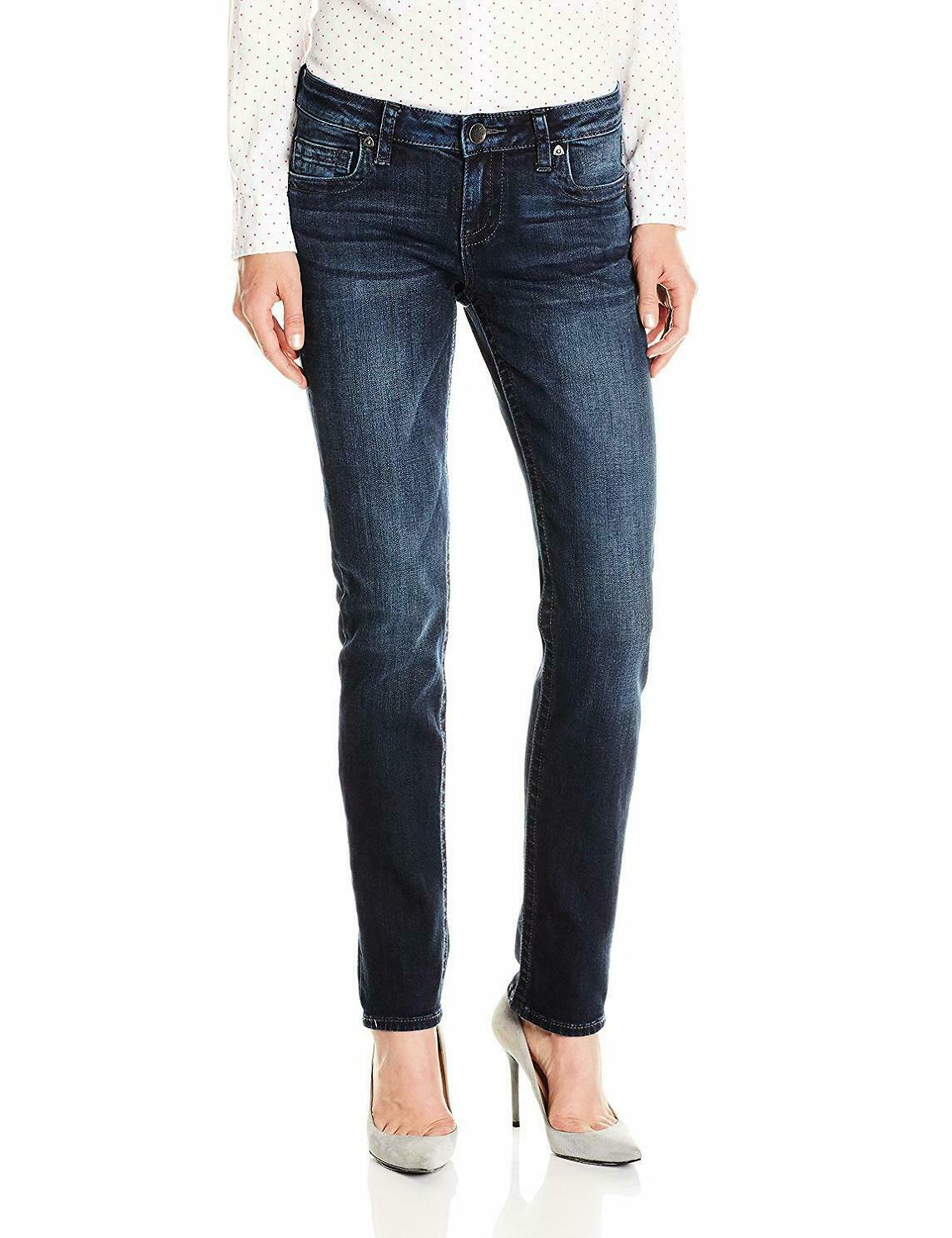 KUT from the Kloth Women's Stevie Straight Leg Jean - Choose SZ color
