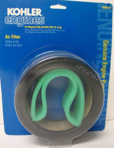 25 883 03-S1 KOHLER Air Filter 235116-S1 K161 K181 K241 K301 K321 K341