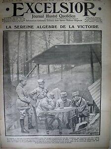 WW1-N-1690-POSTE-Cdt-STRATEGIE-DE-COMBAT-TRANCHeE-DE-L-039-YSER-EXCELSIOR-1915