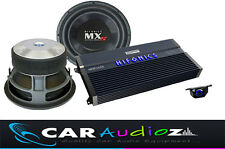 "HIFONICS HUGE POWER BASS PACKAGE SINGLE 12"" SUBWOOFER AMPLIFIER CAR AUDIO DEAL"