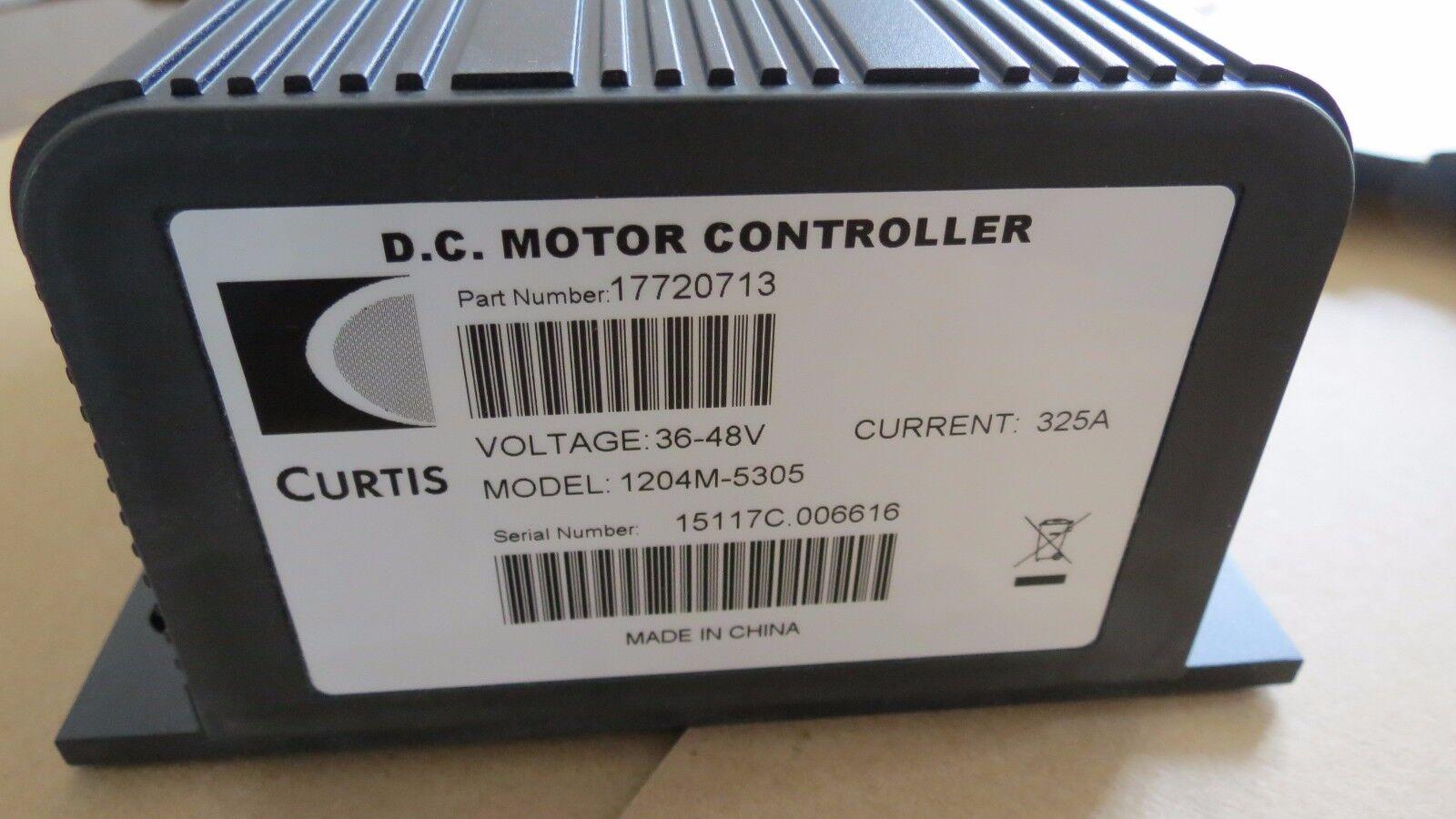 Curtis 1204 controller Manual