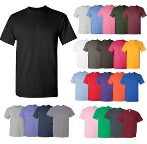Gildan-Mens-Heavy-100-Cotton-Pack-Of-5-Bulk-Plain-Adult-T-Shirt-Tee-5000