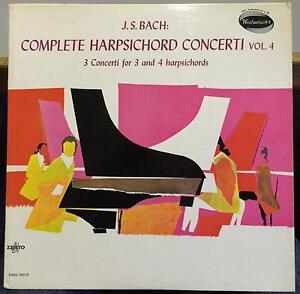 4fa08f7026588 Bach complete harpsichord concerto vol 4 LP VG+ XWN 19019 ...