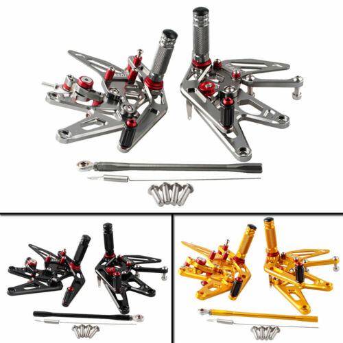 Adjustable Rearsets Rear Set Foot Pegs For Yamaha YZF R1 2004 2005 2006