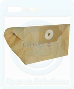 Vacuum Dust Bags for Numatic GVE3702 HZ360 MF300 -Pack Of 10- 2B, NVM-2BH Type