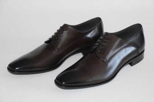 HUGO BOSS Business Chaussures, Taille 44,5 UK 10,5, RRP 280,00 , Made in Italy 2563 afficher le titre d'origine