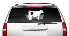 "4-H Heifer 4H 6/"" Car Vinyl Sticker Decal beef show club cattle cow love *J2*"