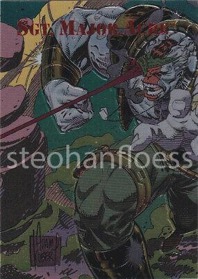 Sgt Major Acre #FF3 Creators Universe Family Fusion Titanium 1993 Dynamic Card