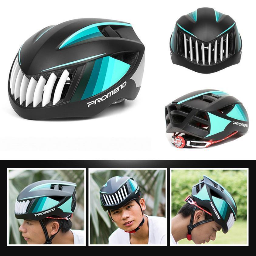 PROMEND MTB Bike Helmet  Unisex Bicycle Breaking wind Carbon Safety Helmets New  70% off