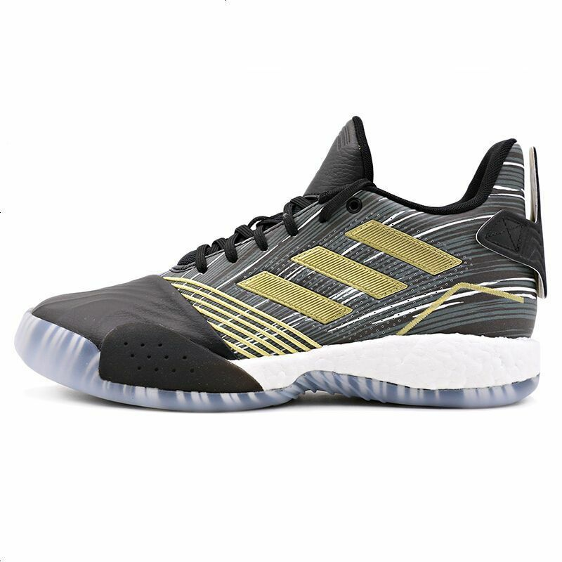 (EE3678) ADIDAS T-MAC MILLENNIUM SHOES BLACK gold NEW