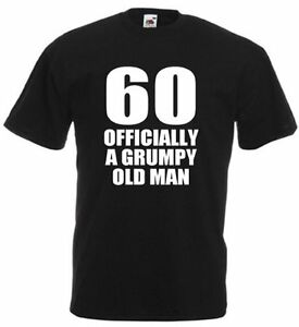 60 Officially T Shirt Mens 60th Birthday Gifts Presents Gift Ideas