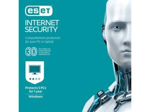 ESET INTERNET SECURITY, 5 DEVICE 1 YEAR