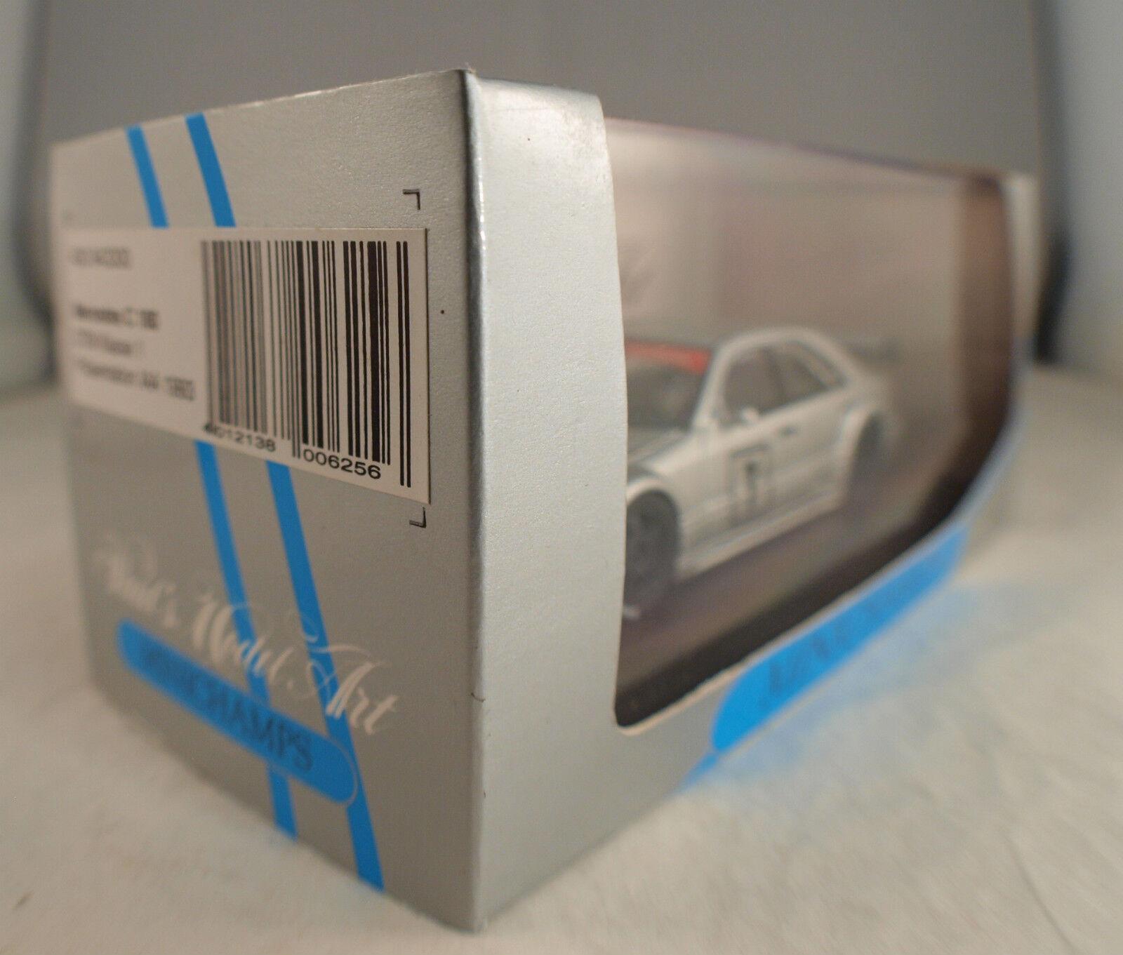 Minichamps Mercedes C C C 180 DTM Klasse 1  1 43 inbox en boîte MIB ea09a5