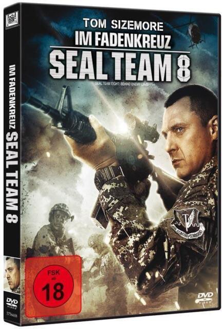 IM FADENKREUZ: Seal Team 8 (2014) / Behind Enemy Lines 4 - Action DVD uncut, oop