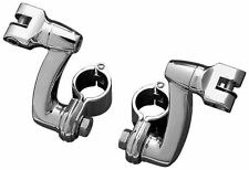 """Kuryakyn Longhorn Offset Foot Peg Mounts with 1-1/4"""" Magnum Quick Clamps 7986"""
