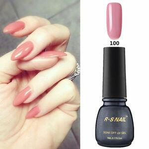 RS-Nail-PP100-Gel-Nail-Polish-UV-LED-Varnish-Blush-Pink-Soak-Off-Professional