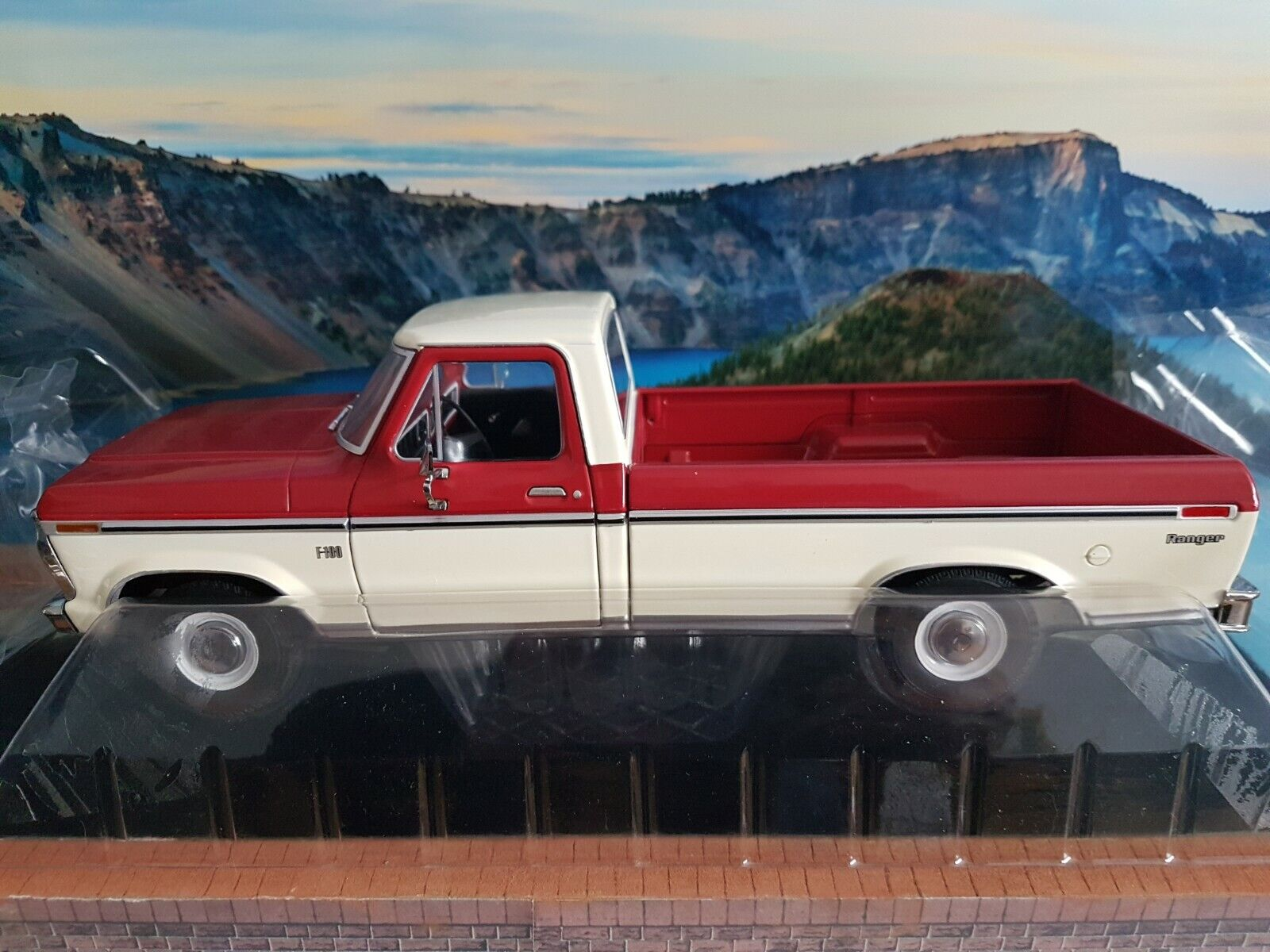 verdelight 1972 Ford F 100 camión escala 1.18