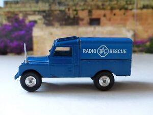 Corgi Toys 416 Rac Land Rover avec boite d'origine