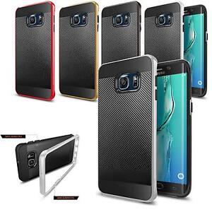 Coque-Carbone-Samsung-Galaxy-S6-Etui-Housse-Anti-Choc-TPU-Silicone-Lincivius