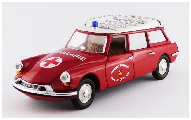 Citroen ID 19 Break Ambulance Pompiers 117 1 43 Rio Made in