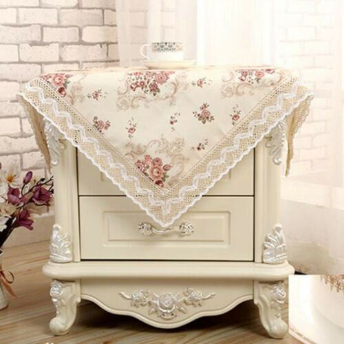 Tablecloth Reusable TV Cabinet Coffee Table Cover Fashion Home Decoration Q