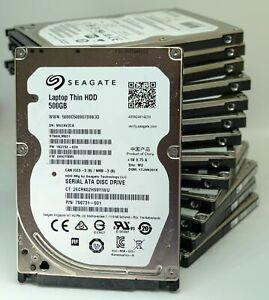 Job-Lot-10-x-320GB-SATA-2-5-034-Laptop-Hard-Drives-HDD-working-Fast-7200rpm-Screws