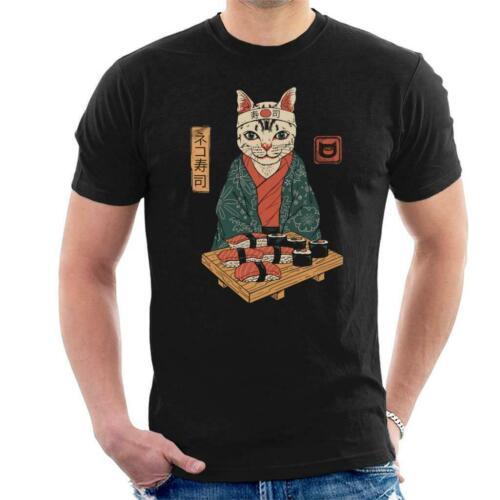 Cloud City 7 Neko Sushi Bar Cat Womens T-Shirt