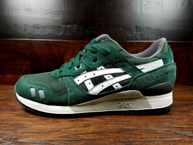 the best attitude 57cce 7103f ASICS GEL-LYTE 3 III (Dark Green / White) (H5Z2N-8001) Mens 1990 Anniversary