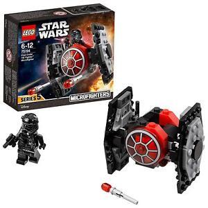 DéVoué Lego Star Wars 75194 Microfighter Chasseur Tie Du Premierordre Figurine Box Set
