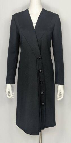 PAULINE TRIGERE Vintage 60's Sz 6 Wool Asymmetrica