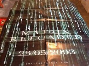 MATRIX RELOADED MANIFESTO LOCANDINA ORIGINAL MOVIE POSTER - Italia - MATRIX RELOADED MANIFESTO LOCANDINA ORIGINAL MOVIE POSTER - Italia