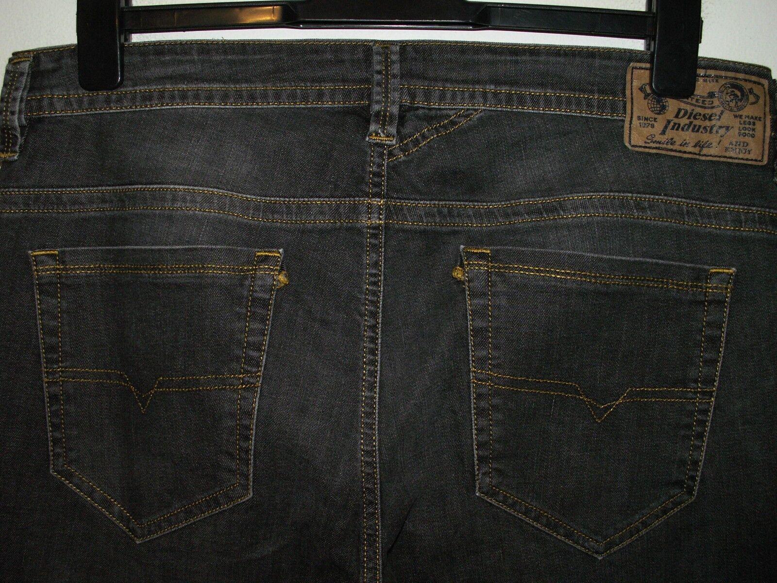 Diesel thavar slim-skinny fit jeans wash SR050 stretch W33 L32 (a4426)