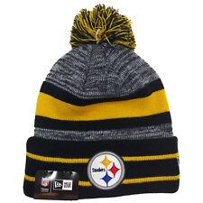 item 1 NFL Cuff Pom Knit Pittsburgh Steelers New Era Cap -NFL Cuff Pom Knit Pittsburgh  Steelers New Era Cap e5adcd2a1