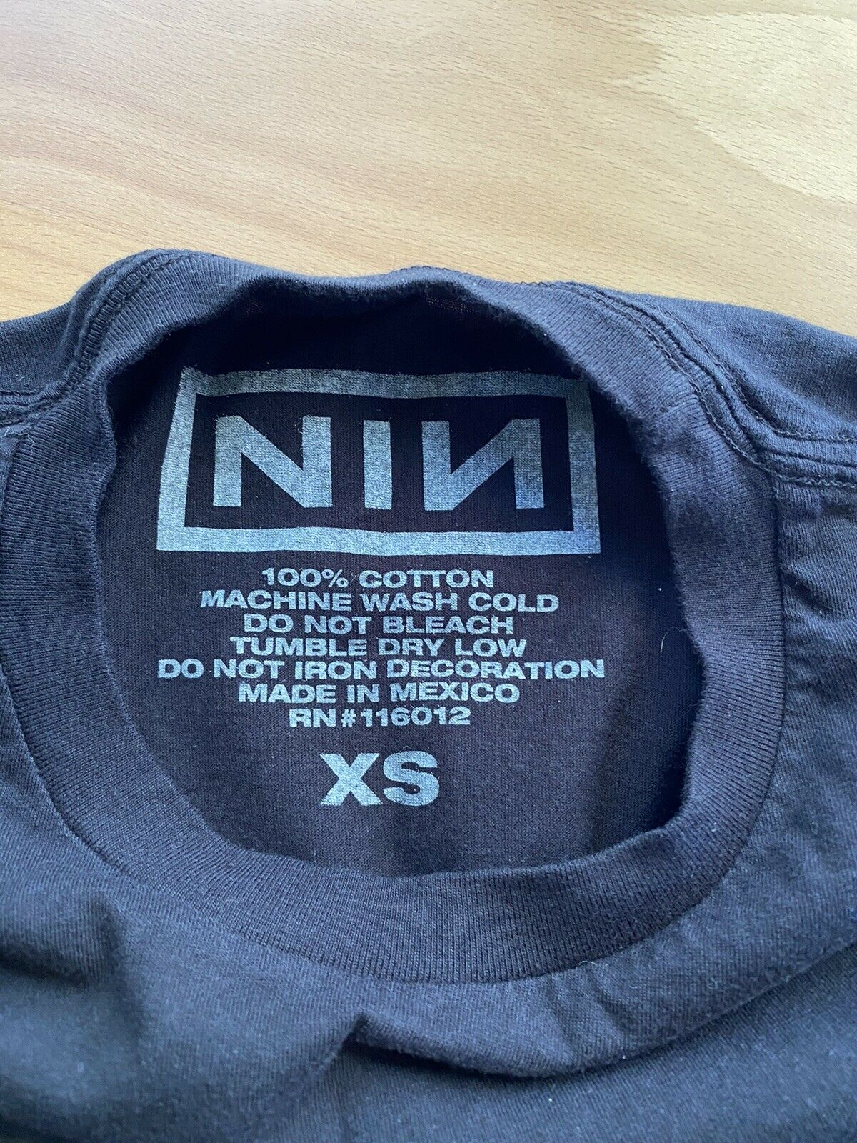 Rare (2017) Nine Inch Nails (NIN) Authentic Conce… - image 3