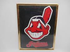 7aa41d06e88 CLEVELAND INDIANS CHIEF WAHOO LOGO WALL PLAQUE hanging MLB Baseball Souvenir