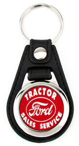 Ford Tractor Sales & Service Key Chain Key Fob