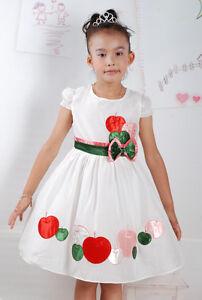 Nuevo-Partido-De-La-Muchacha-Flor-Verano-vestido-color-rosa-Blanco-18-M-a-5-Anos